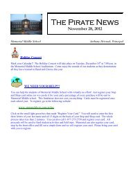 The Pirate News - Town of Hull