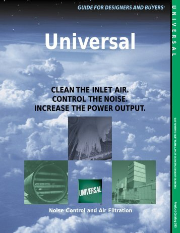 265-turbine-products-overview - Universal: Acoustic Silencers