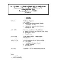 Agenda 09/14/2004 - Otter Tail County