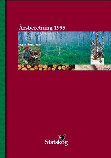Årsberetning 1995 - Statskog