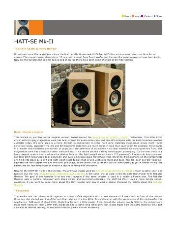 HATT-SE Mk-II_copy.pdf - Humble Homemade Hifi