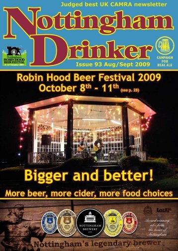Bigger and better! - Nottingham CAMRA