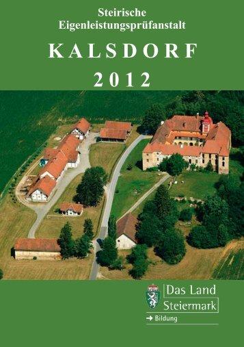Prüfbericht 2012 - Rinderzucht Steiermark