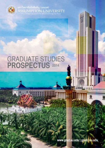 Prospectus - Assumption University of Thailand
