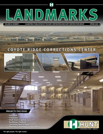 COYOTE RIDGE CORRECTIONS CENTER - Hunt Construction Group