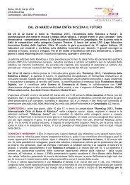 comunicato stampa - Fondazione Mondo Digitale