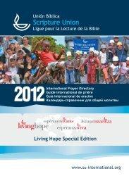 2012 International Prayer Directory - PDF - Scripture Union Scotland