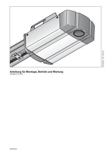 SupraMatic 2 mit internem Empfaenger - Hörmann