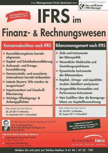 IFRS im Finanz- & Rechnungswesen - Management Circle AG