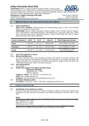 Safety Information Sheet Nickel alloys - ThyssenKrupp VDM