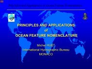 Principles and Applications of Ocean Feature Nomenclature - GEBCO