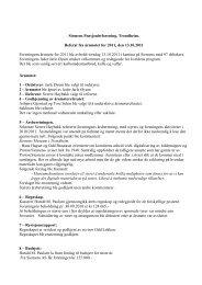 Referat fra årsmøtet - Siesenior.net