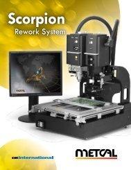 Metcal Scorpion Rework System - EIS