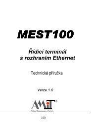 MEST100 - Technická příručka - AMiT
