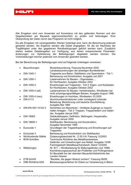 form 1065 gilti  7 Vorwort www.hilti.de