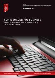 RUN A SUCCESSFUL BUSINESS - ICAEW