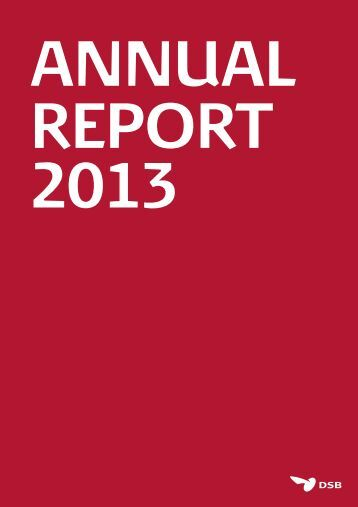 DSB Annual Report 2013