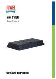 Guide ou manuel Monolux( PDF, 0.67 MB ) - JUWEL® Aquarium