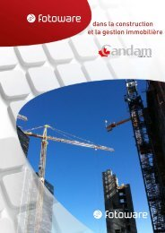 dans la construction et la gestion immobilière - Candam