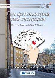 Fönsterrenovering med energiglas - Energikontor Sydost