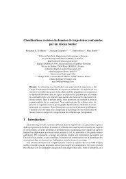 Classifications croisées de données de trajectoires ... - Fabrice Rossi