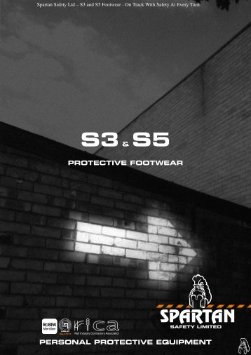 personal protective equipment protective footwear s3& s5