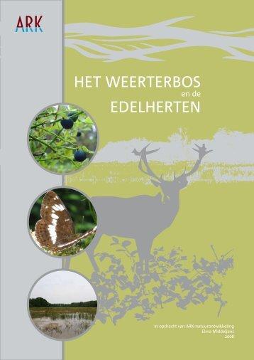 Reader edelherten Weerterbos - ARK Natuurontwikkeling