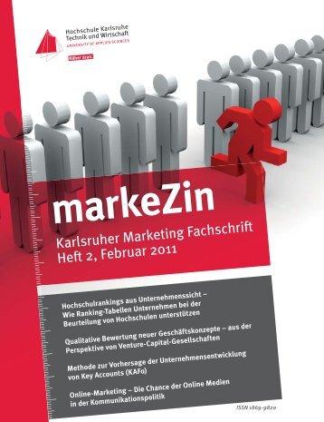 markeZin - Hochschule Karlsruhe - Technik und Wirtschaft