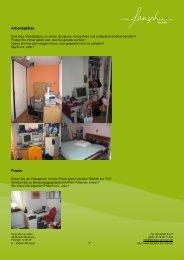 Arbeitsplätze Praxis - Feng Shui am Main
