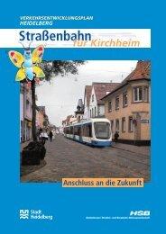 Straßenbahn nach Kirchheim - Stadtpolitik Heidelberg