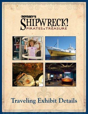 SHIPWRECK Pirates and Treasure exhibit brochure - ExhibitFiles
