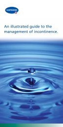 An illustrated guide to the management of incontinence. - Hartmann