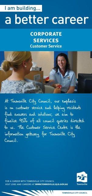 a better career - Townsville City Council