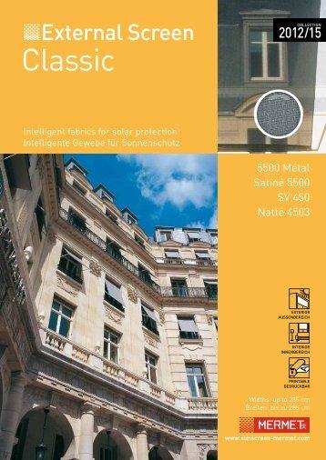 Download im PDF - Sunscreen Mermet