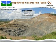 Depósito Ni-Cu Santa Rita - Bahia - ADIMB