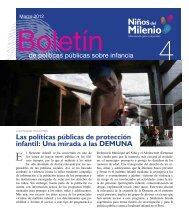 Las políticas públicas de protección infantil - Grupo de Análisis para ...