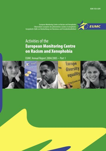 Activities of the European Monitoring Centre on Racism ... - Cestim