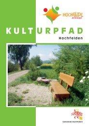 Kulturpfad - Gemeinde Hochfelden