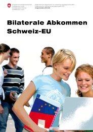 Bilaterale Abkommen Schweiz–EU