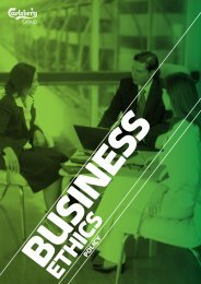 Business Ethics Policy - Carlsberg Group