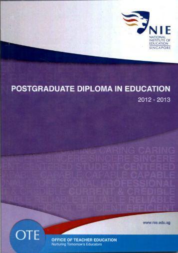 national institute of education singapore - NIE Digital Repository ...