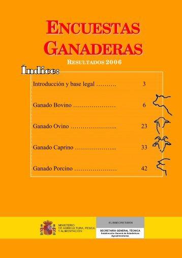 ENCUESTAS GANADERAS - Cooperativas Agro-alimentarias
