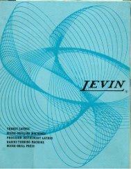 Levin Turret, Instrument & Lathes Micro Drills & Radius Turning ...