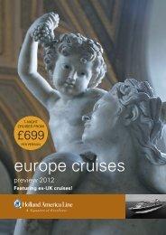 europe cruises - Carnival Cruise Lines