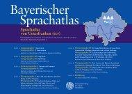 Sprachatlas von Unterfranken (SUF) - Universität Würzburg
