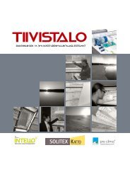 Lataa järjestelmäesite pdf -muodossa - Tiivistalo