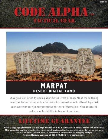 MARPAT - code alpha