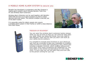 A MOBILE HOME ALARM SYSTEM to secure you - ISA Telematics