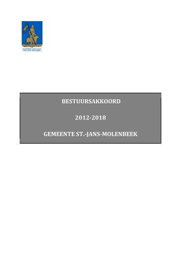 BESTUURSAKKOORD 2012-2018 GEMEENTE ST ... - Molenbeek
