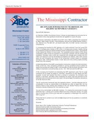 The Mississippi Contractor - Msabc.net